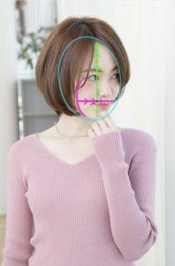 【丸顔さんに似合うボブ】小顔に見せる髪型・前髪を分かりやすく解説☆