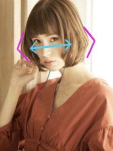 【面長さんに似合うボブ】小顔に見せる髪型・前髪を分かりやすく解説☆